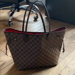 Authentic Louis Vuitton Daniel Ebene Neverfull MM